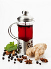 Berry-Fennel-Ginger Herbal Tea