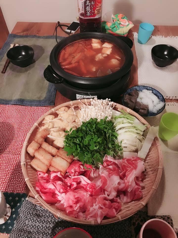 special dinner/kimchi hotpot