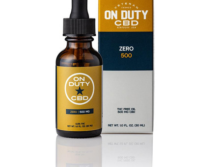 On Duty CBD Products In Stock!