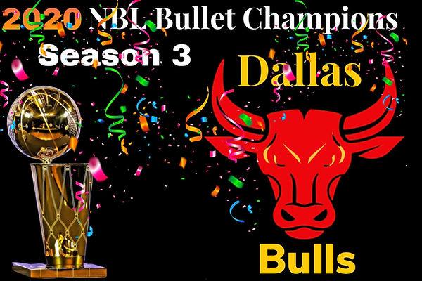 2020 NBL Bullet Champions Dallas Bulls.j