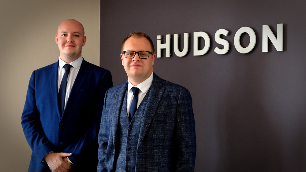 From Left to right (Head of Bid Management – Daniel Head & Group CEO John Hudson).