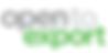 Open to Exprt Logo - Scottish Export Awards Partner