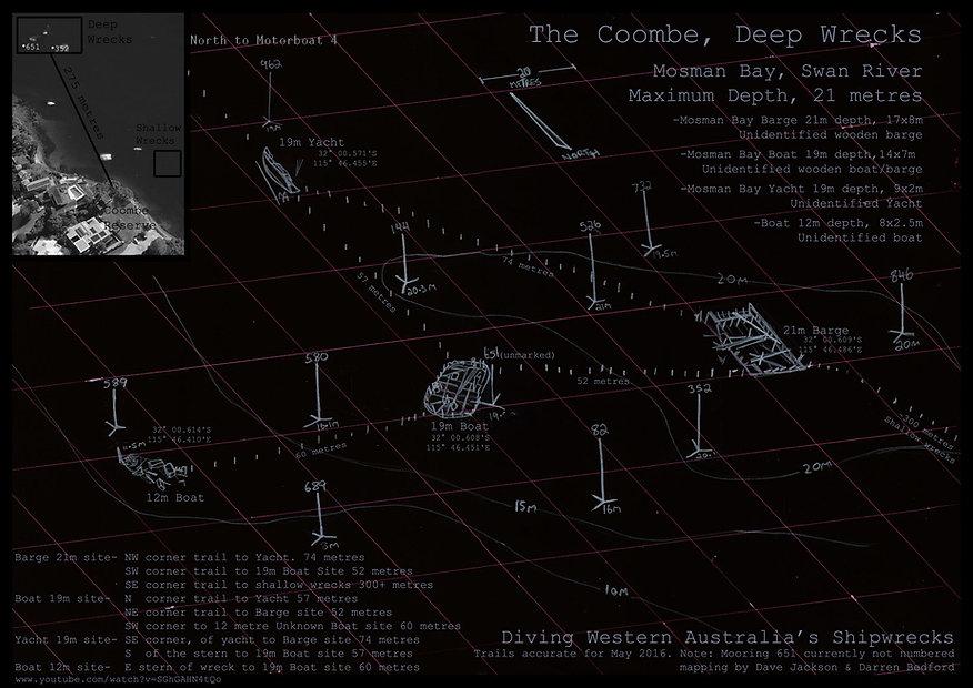 Combe Deep  Shipweck Western Australia