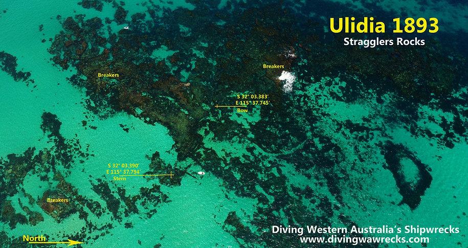 Ulidia Shipwreck