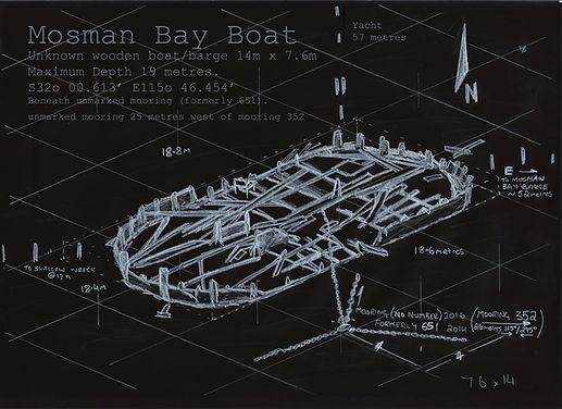 Mosand bay Deep Boat  Shipweck Western Australia
