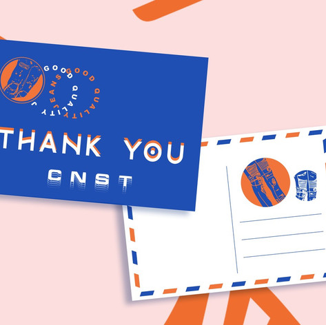 CNST Thank You Note