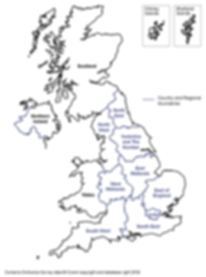 Regions of UK for pro-Europe work