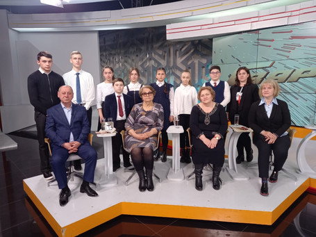 Участие в съемках телепередачи «Гвардия»