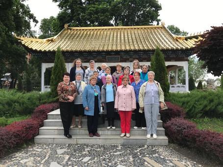 Матери и вдовы погибших воинов посетили парк-отель «Золотой город»