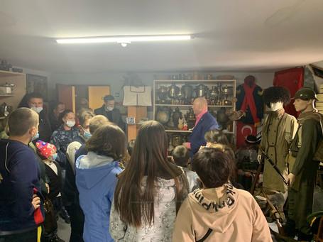 Экскурсия в военно-историческом клубе «Дивизион»