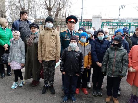 В Красноярске открыли мемориальную доску в память о воине-интернационалисте