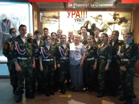 Урок мужества в Красноярске