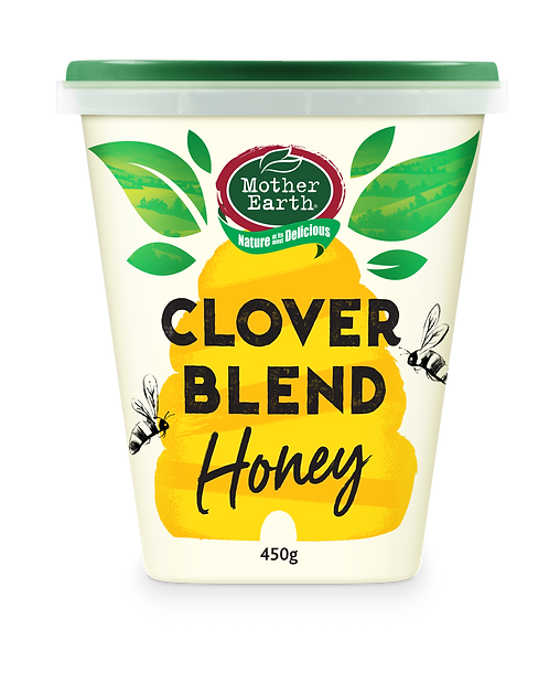 Mother Earth – New Zealand Clover Blend Honey 450g
