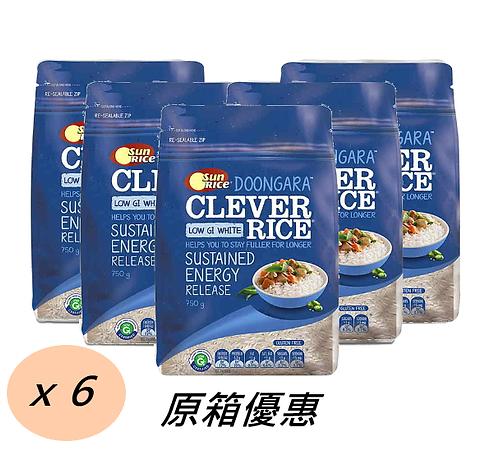 「陽光牌」澳洲低升糖白米 (原箱) 6x750克