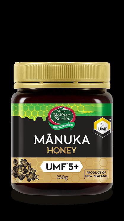 「媽媽農場」紐西蘭麥蘆卡蜂蜜UMF™ 5+ (250克)