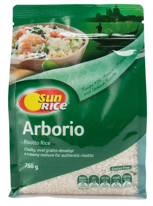 SunRice (Australian) Arborio Risotto Rice 750g