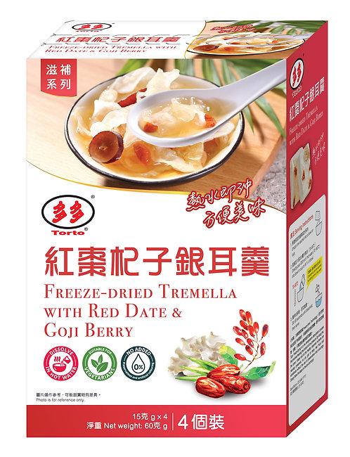 Torto Freeze-dried Tremella with Red Date & Goji Berry