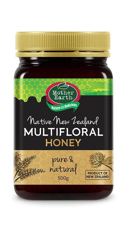 「媽媽農場」純紐西蘭百花蜂蜜 (500克)