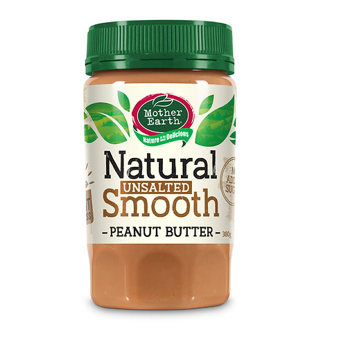 Mother Earth Peanut Butter Smooth (No added Salt & Sugar)