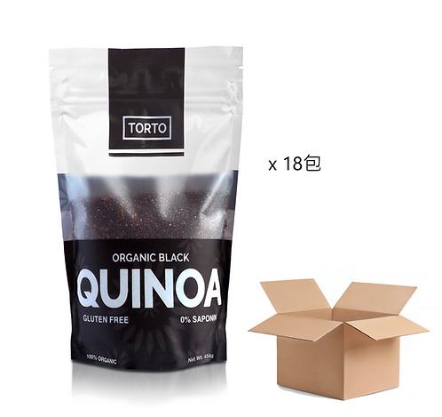 Torto Organic Black Quinoa 454g * 18 packs