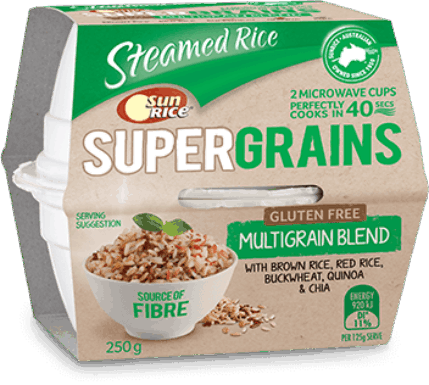 SunRice Microwave Cup SuperGrains (Multigrain Blend)