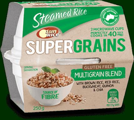 「陽光牌」超級穀物系列即食糙米飯 -【糙米+紅米+蕎麥+藜麥+奇亞籽】