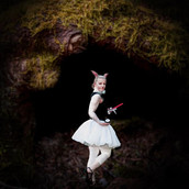The white rabbit. A new composite using