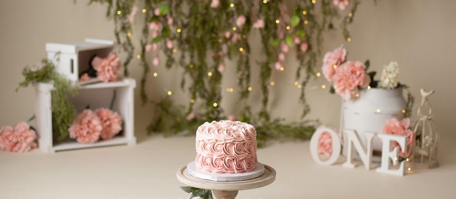 First Birthday Cake Smash Celebration
