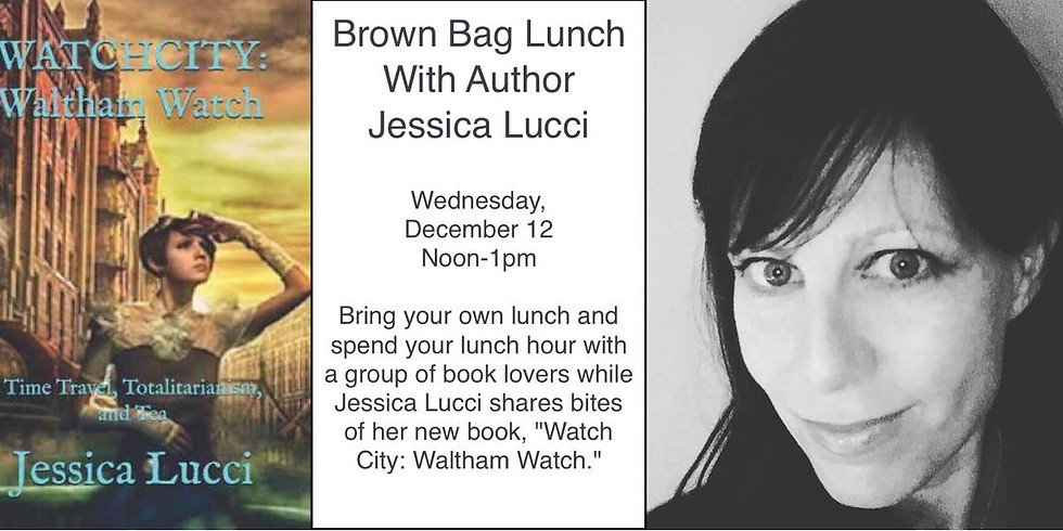 Brown Bag Lunch With Author Jessica Lucci
