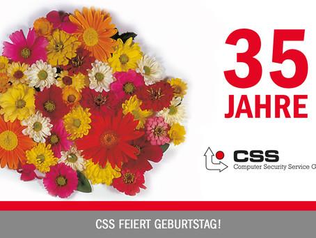 35 Jahre CSS: Wir feiern Jubiläum