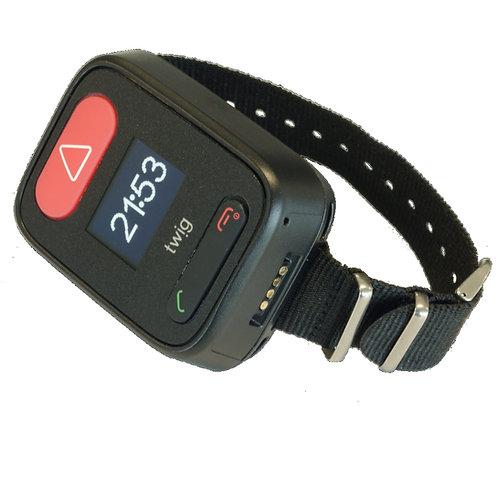 Für SRD-Modul Geräte - TWIG Alarm-Button (kabellos) inkl. Arm-/Halsband