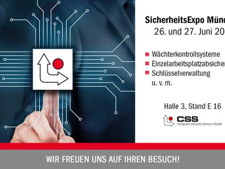 SicherheitsExpo in München | 26. + 27.06.19