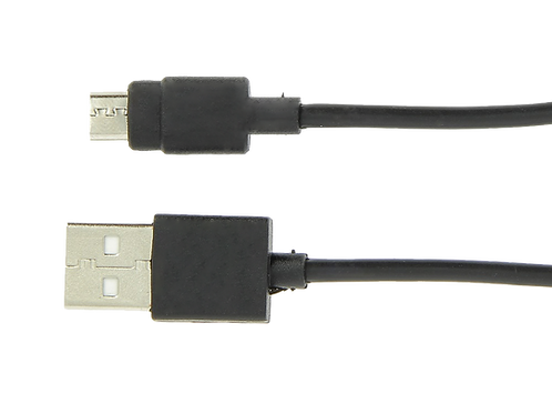 USB cable for power supply unit for emergency cell phone