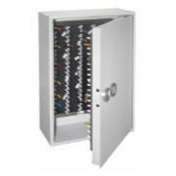 KeyManager Stainless steel cabinet with electronic unit