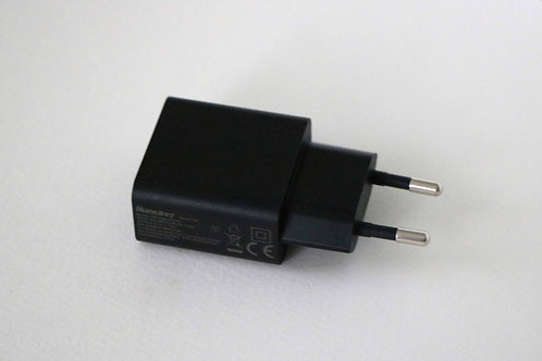 Power supply for standard USB for emergency cell phone