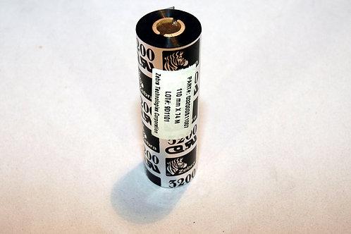 Color ribbon black (wax/resin) for Eltron/Zebra printers