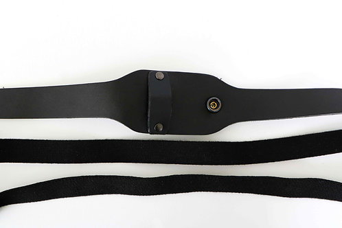Belly strap set for emergency cell phone