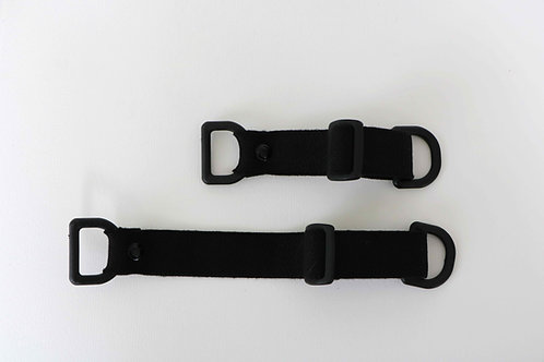 Cuffs set for emergency cell phone