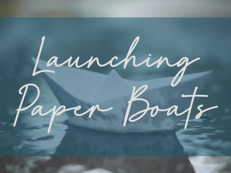 Launching Paper Boats | The Art of Creating Your Own Bedtime Stories