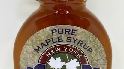 8 oz Glass Bottle Pure Maple Syrup