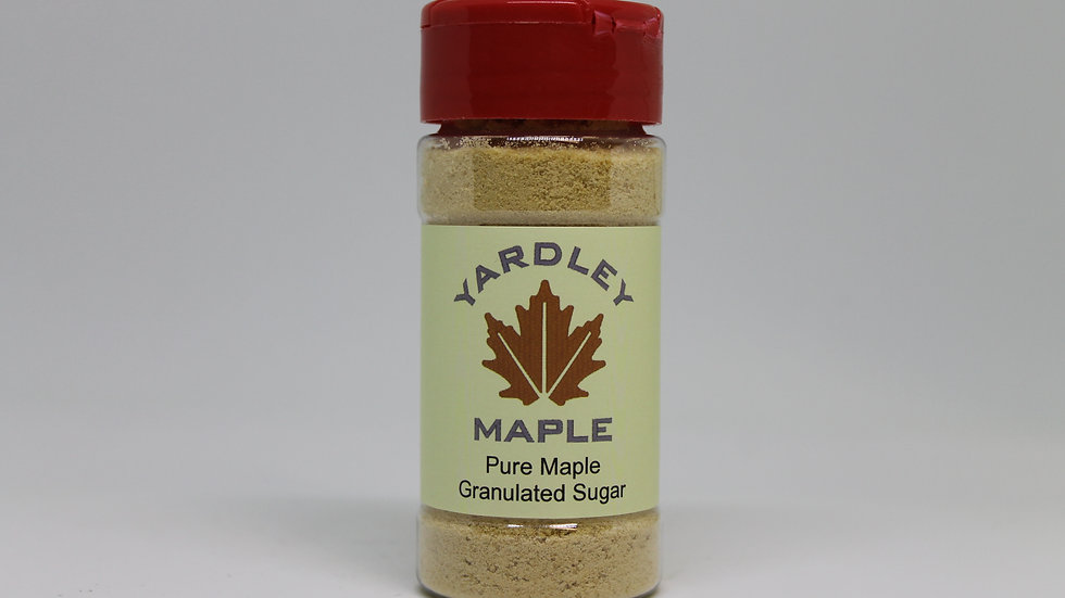 4 oz Maple Granulated Sugar