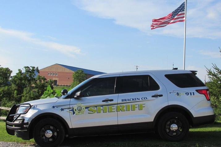 Bracken County Sheriff's Vehicle
