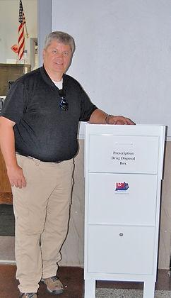 Prescription Drug Disposal Box