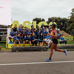 ASICS / Auckland Marathon Fan Stand