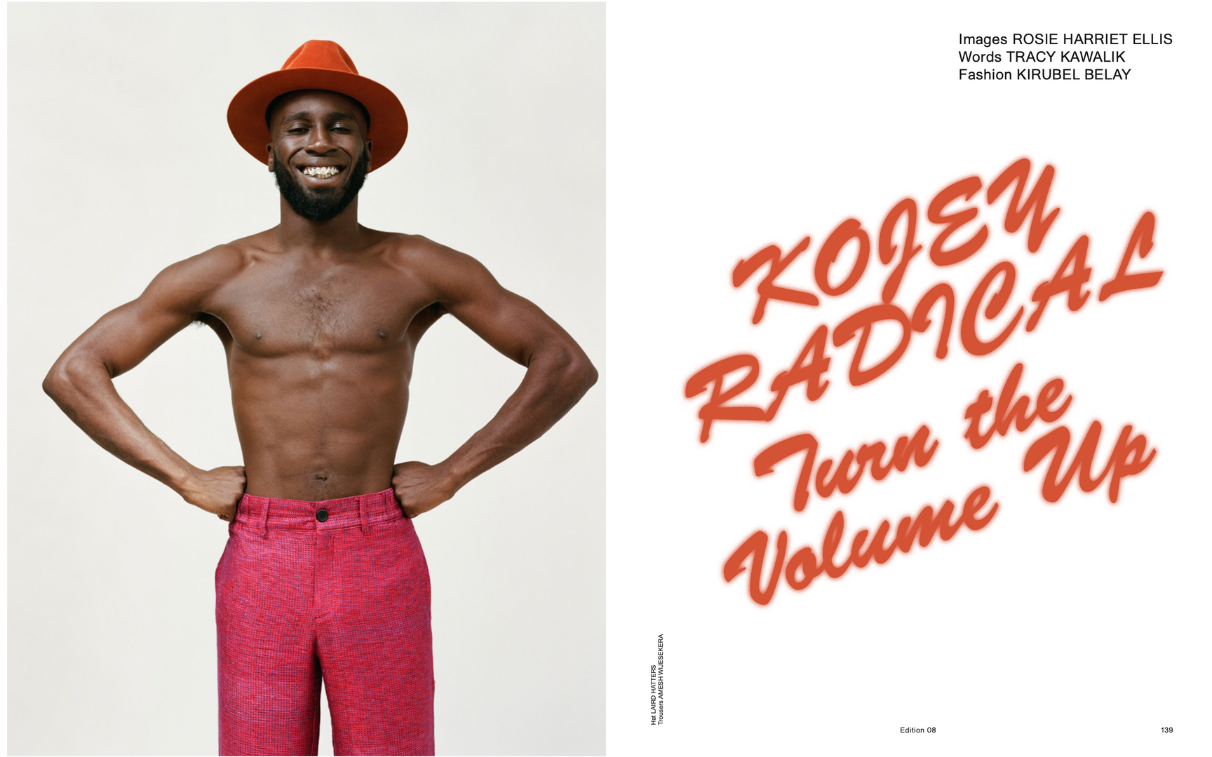 Kojey Radical For Brick The Mag