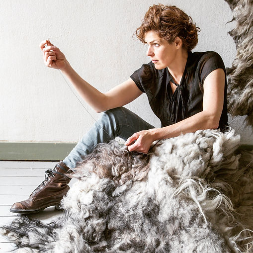Eugenie Ligthart founder Landscapes in Wool