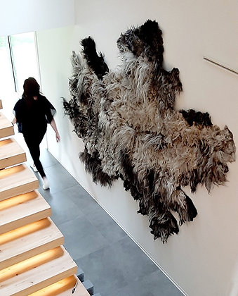 LANDSCAPES IN WOOL -wallhanging