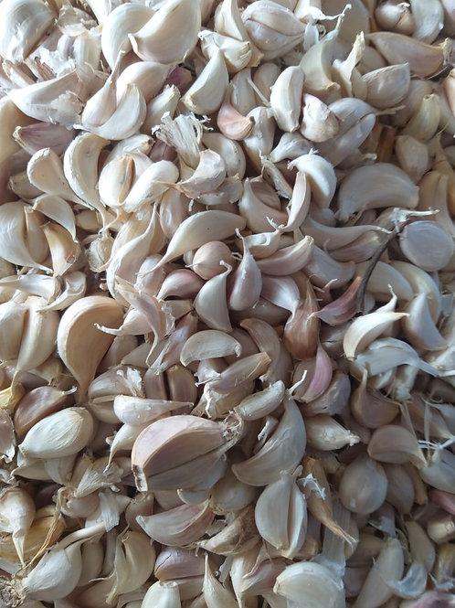 garlic leaves