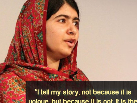 Malala yousafzai ------ A fighter girl
