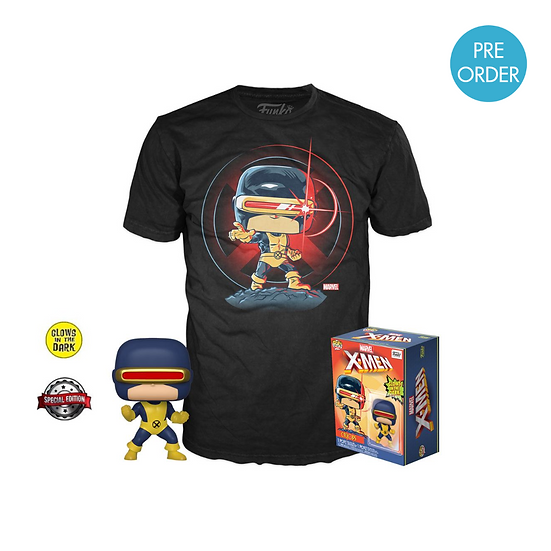 Marvel Cyclops First Appearance  Funko Pop Tee